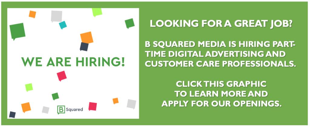 B Squared Media Jobs