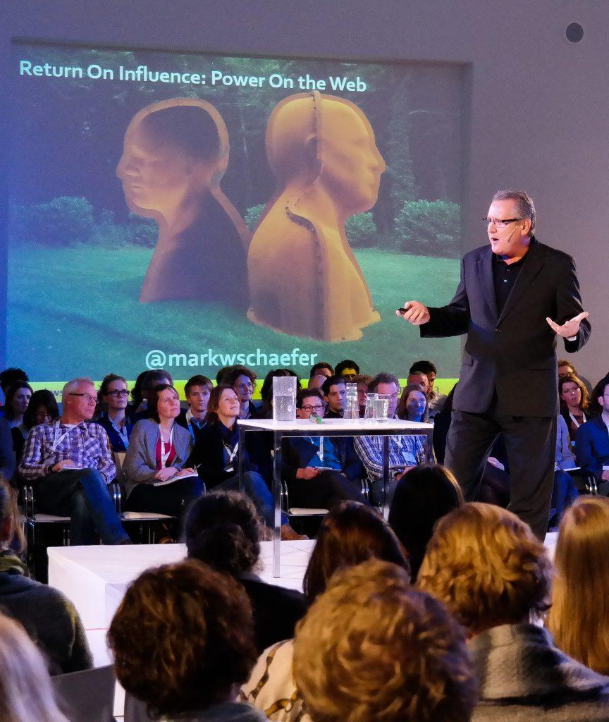 Keynote speaker Mark Schaefer