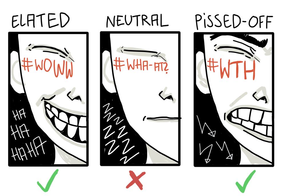 social media emotional states