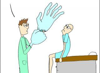 proctology exam