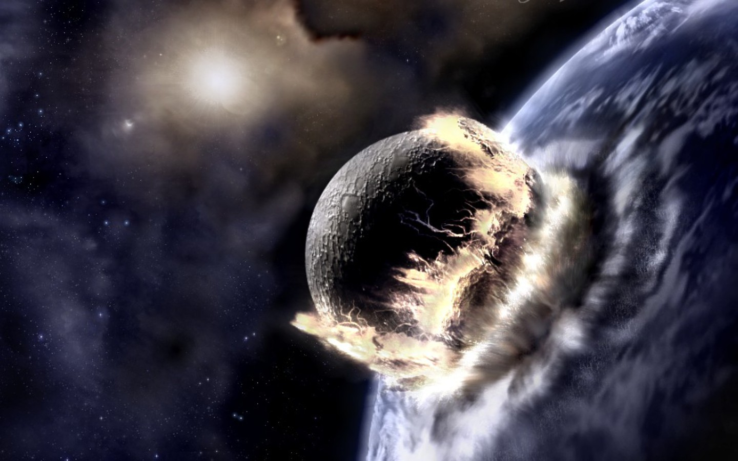 Images of Planets Colliding 2012 - #SpaceMood
