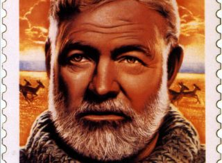 Ernest Hemingway Stamp