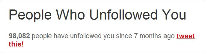 unfollowed me on twitter