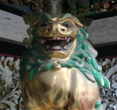 Japan Niko shrine lion