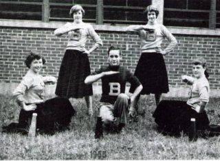 cheerleaders for blogging