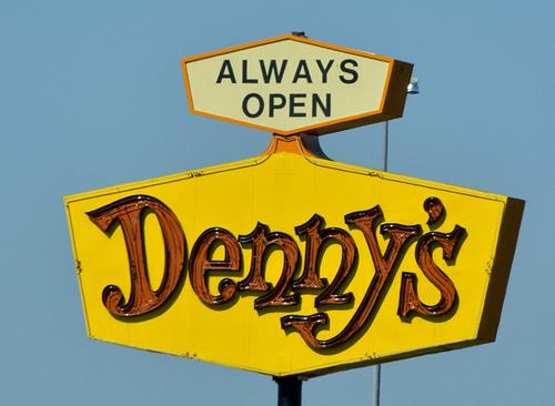 dennys social media case study