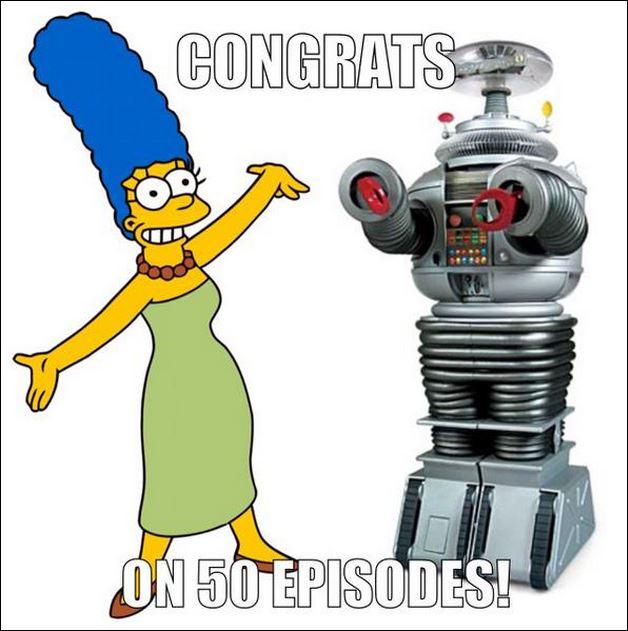 50 episodes