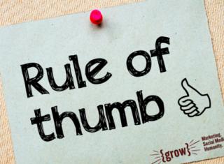 one-social-media-rule-to-follow
