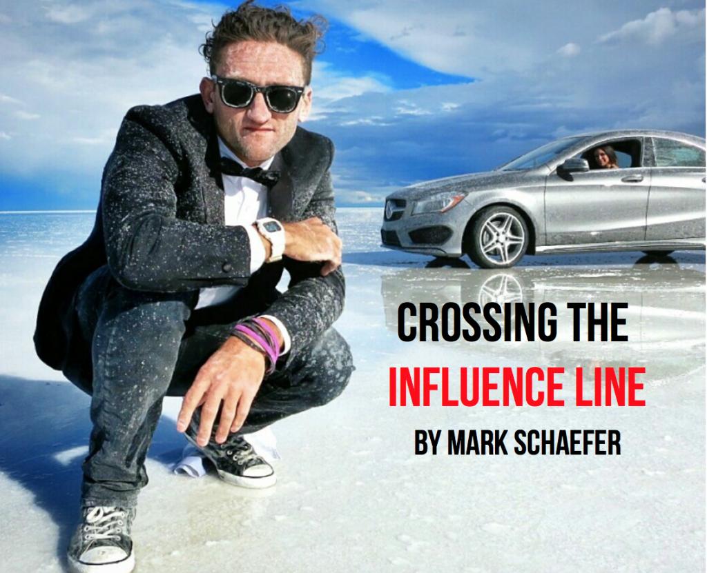 influence line