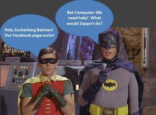 Batman and social media