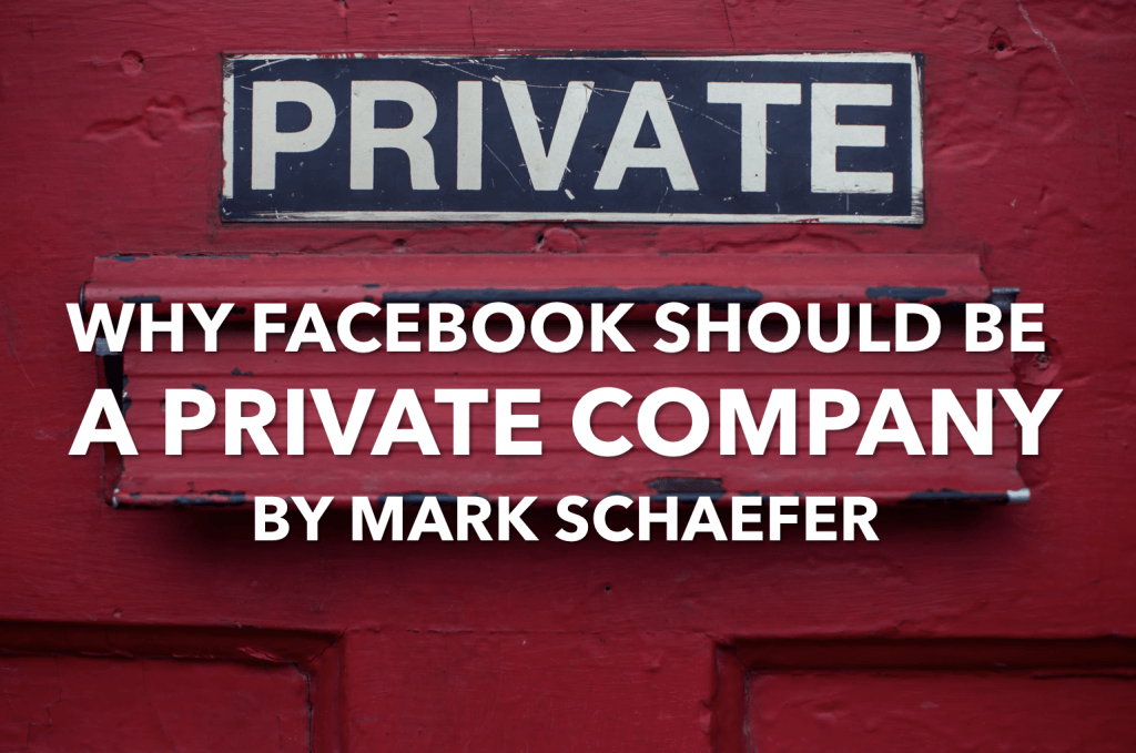 taking facebook private