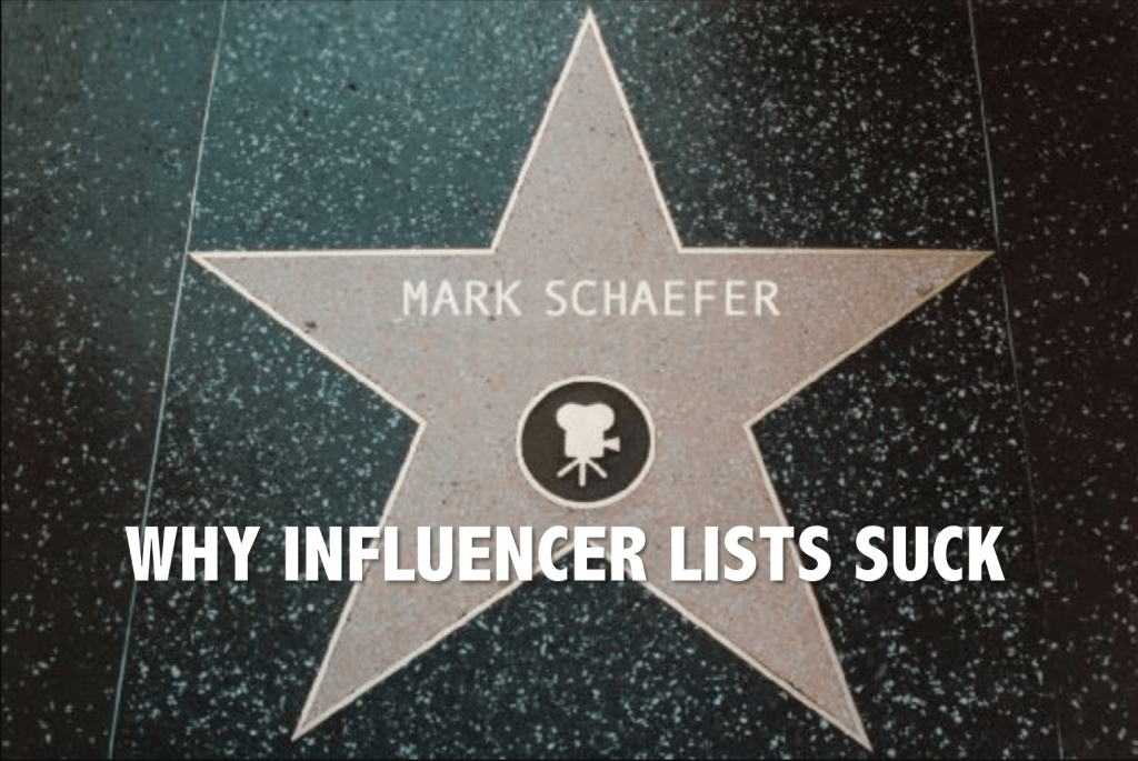 influencer lists