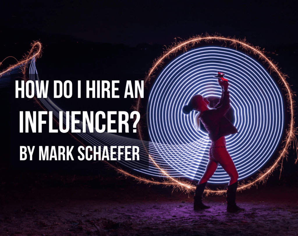 how to hire an influencer