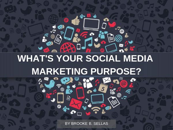 social media marketing purpose