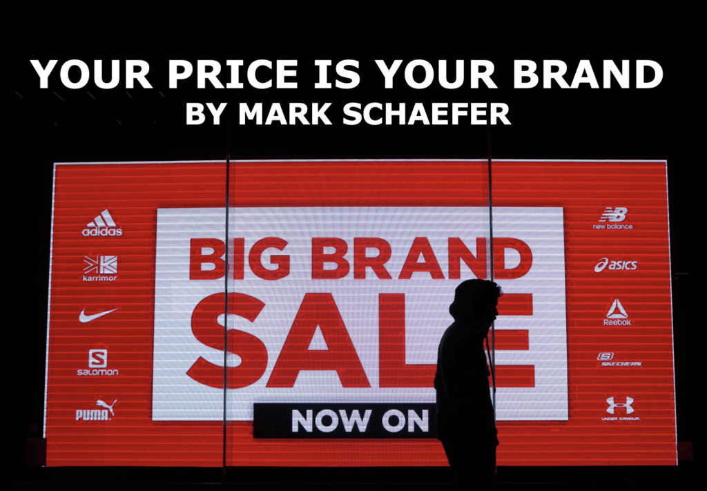 Your price determines your brand