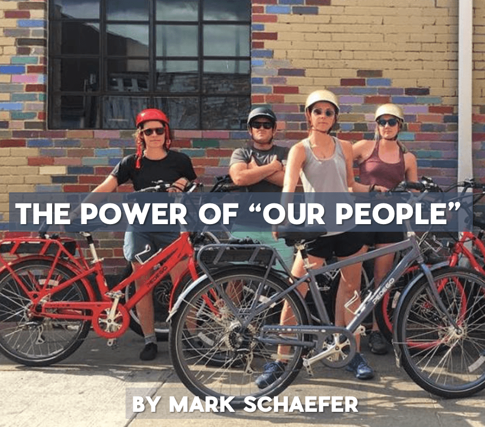 "The marketing power of ""Our People"" 