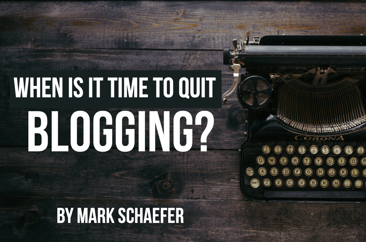 When is it time to quit blogging (you might be surprised!)