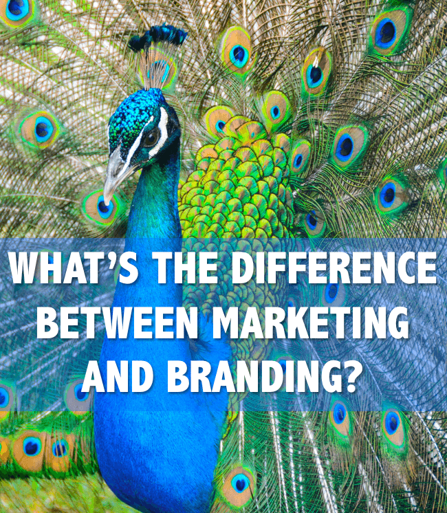 marketing versus branding