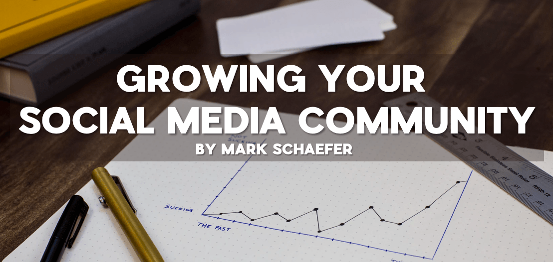 growing social media community