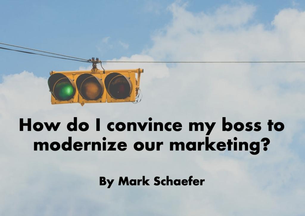 modernize our marketing