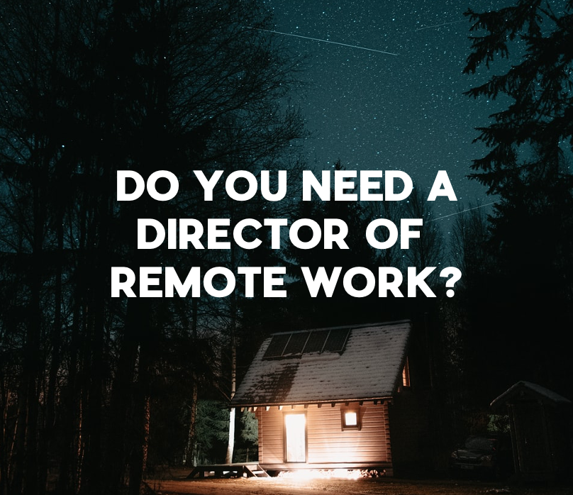 director of remote work