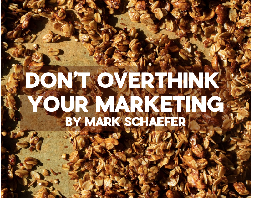 overthink marketing