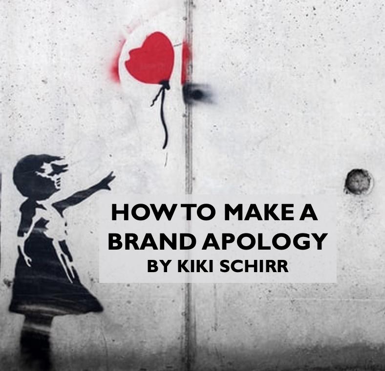 brand apologies